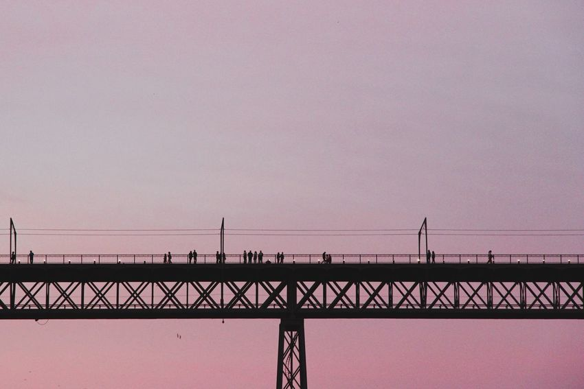 Portugal Bridge - Man Made Structure Sunset Outdoors Silhouette Architecture