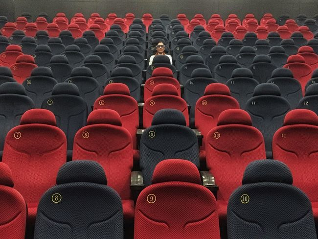 In A Row Auditorium Seat Chair Red Sitting Adult Teamwork Adults Only People Well-dressed Standing Out From The Crowd University Indoors  Conformity Men Lecture Hall Only Men Musical Theater  Day EyeEmNewHere EyeEmNewHere EyeEm Ready   AI Now