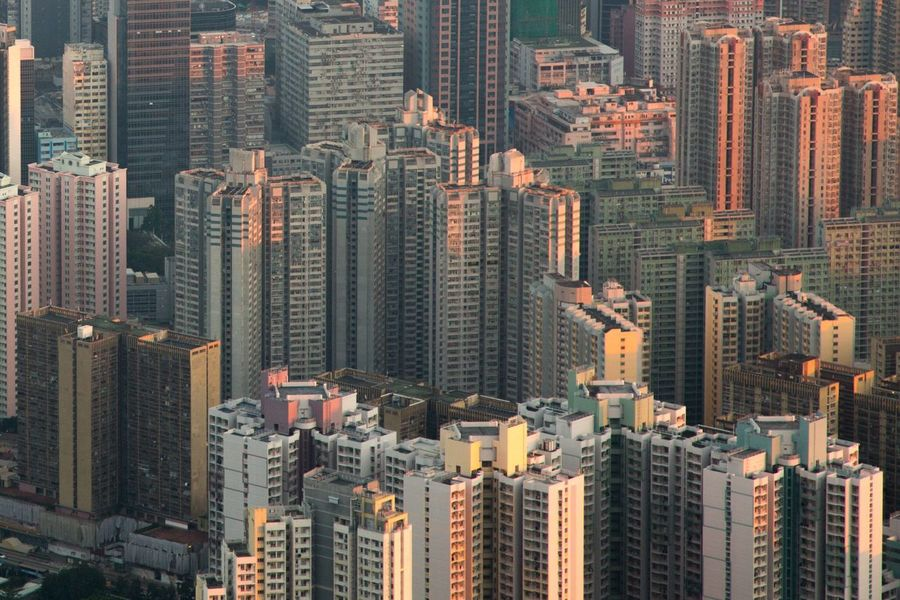 Nano Block. Skyscraper Housings Building Architecture Hiking HongKong Cityscape Urban Skyline Modern Mountain Photography City