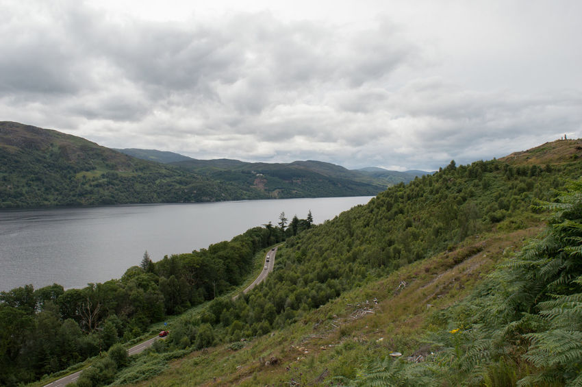 Loch Ness Beauty In Nature Cultures Day Forest Lake Landscape Mountain Nature No People Outdoors Scenics Tranquil Scene Tree