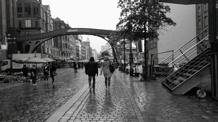 Large Group Of People Walking Real People City Built Structure Bridge - Man Made Structure People Lifestyles Architecture Men Adult Day Women Outdoors Adults Only Sky Only Men Live For The Story The Street Photographer - 2017 EyeEm Awards The Architect - 2017 EyeEm Awards Postcode Postcards EyeEm Ready   Stories From The City