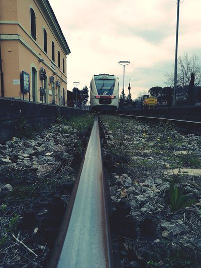 Railway Railroad Station Train Track Emilia Romagna Brisighella Slow Train Coming Slow Is Better Appenninotoscoemiliano Scenic Railway Faentina Sky Architecture Building Exterior Cloud - Sky