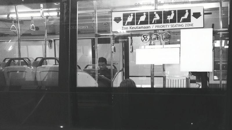 My Commute Brt Sunway RapidKL Malaysia Night