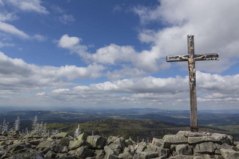 Gipfelkreuz am
