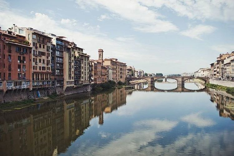 Вид с золотого моста. Флоренция.