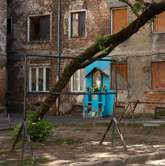 Abandoned Places Chapel Place Of Worship Poland Praga Warsaw Warsaw Blue Chape Old Buildings Praga