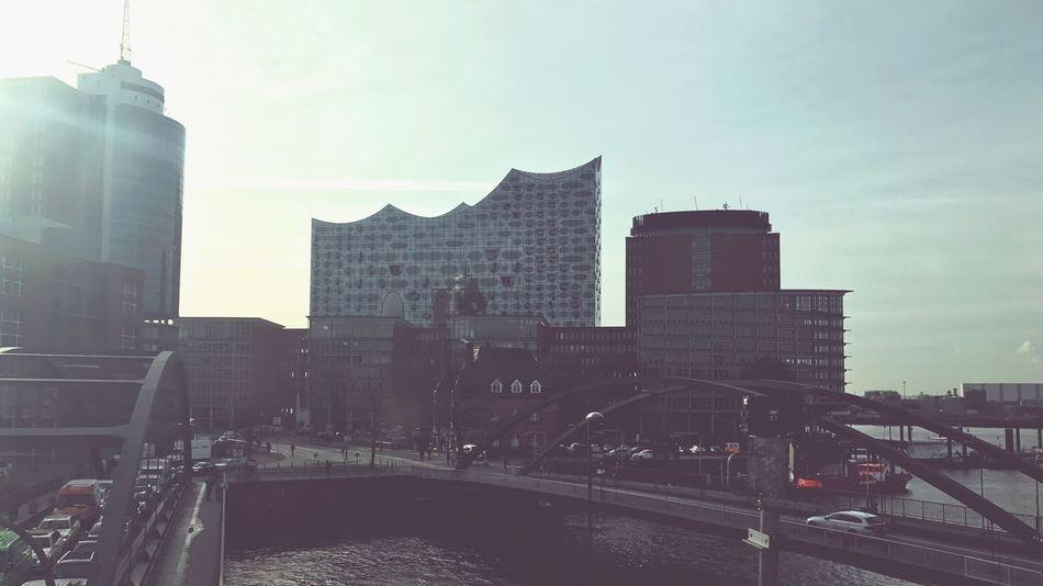 Elbphilharmonie Hamburg Hansestadt Skyscraper