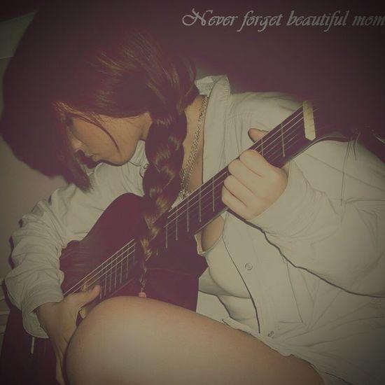 Playing Guitar 💕