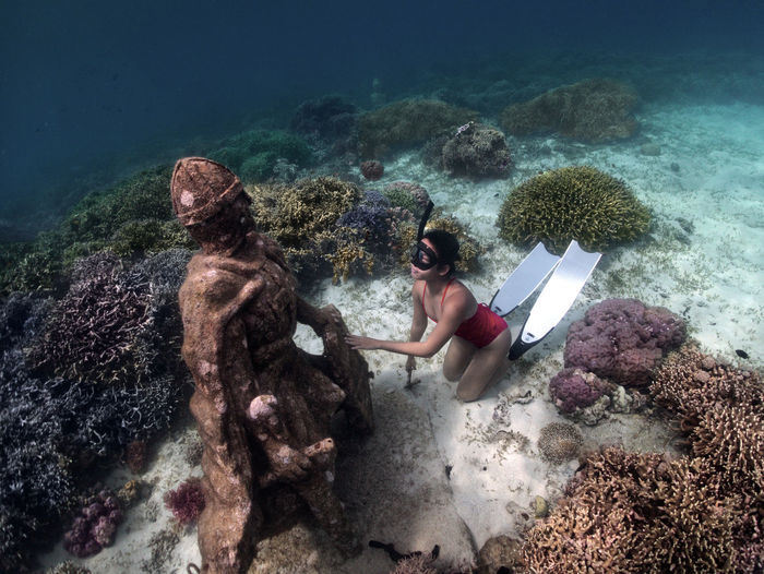 A chance meeting beneath the ocean with the knights templar
