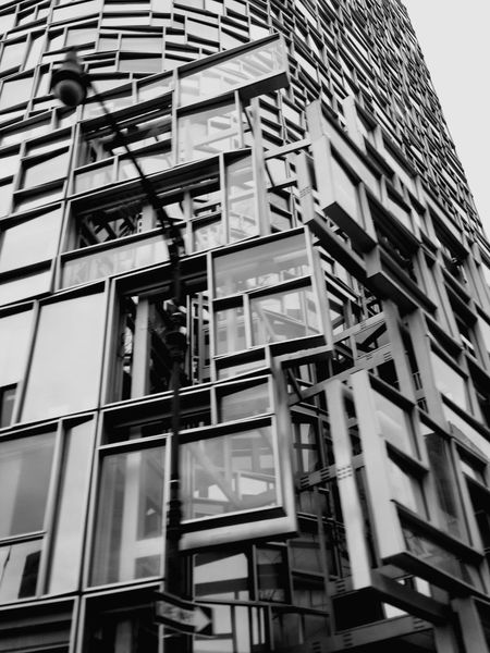 Lampost NYC Photography Windows Building Perspectives On Nature Blackandwhite Photography Stories From The City