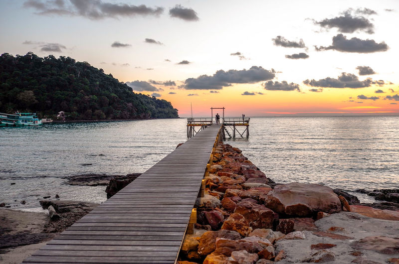 Bridge Koh Kood Nature Sky Stunning_shots Stunningview Sungoesdown Sunset Sunset_collection Thailand Tranquility Sommergefühle EyeEmNewHere