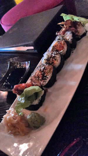 Taking Photos Food Shushi Japanness