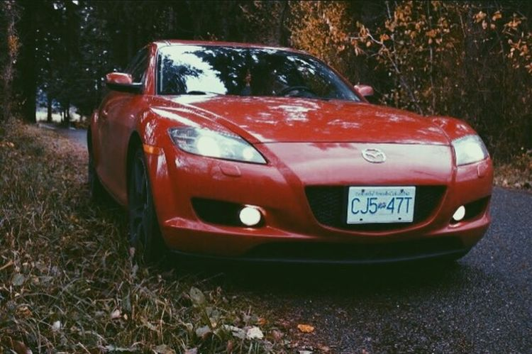 The rotary life 👌 Red Car Transportation Rx8Life Rx8Club Rx8 Mazda