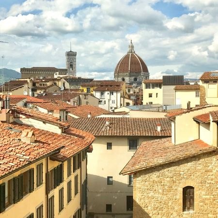 No People Architecture Building Exterior Cloud - Sky Sky Roof Day Town Tiled Roof  City Cityscape Dome Renaissance Architecture Firenze Firenze, Italy Historic Historical Historical Buildings Historical Site Historical Monuments