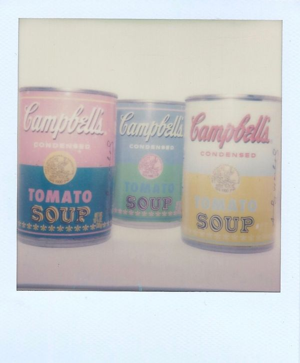 Polaroid Impossible Project Warhol Inspired Full Circle