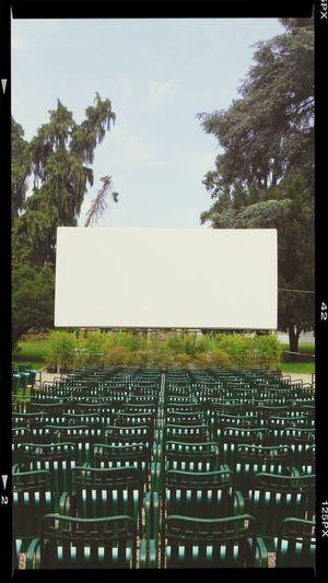 Bianco e azzurro. Italy Lucca Tuscany Cinema