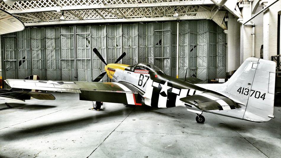 P51 Mustang P51 Duxford Imperial War Museum Cambridgeshire England Uk Explore Exploring Travel USAF American Aircraft Aircraft Warplane