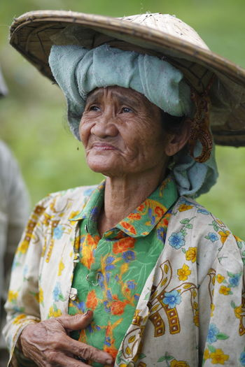 Uniqueness Senior Adult Hat Portrait Real People Traditional Clothing Outdoors Flat Cap Wrinkles Of A Long Life Lived Wrinkle Of Life Wrinkled Face Wrinkles Wrinkled Skin Oldness INDONESIA Fine Art Mature Adult Wrinkled Traditional Hat Hat Hats Rice Fields  Farmer Peasant Nias Island