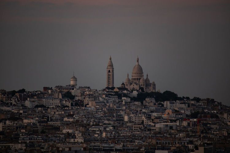 Sacre Coeur Architecture Belief Building Building Exterior Built Structure City Cityscape Clear Sky History Nature No People Outdoors Place Of Worship Religion Residential District Sky The Past Tourism Travel Travel Destinations