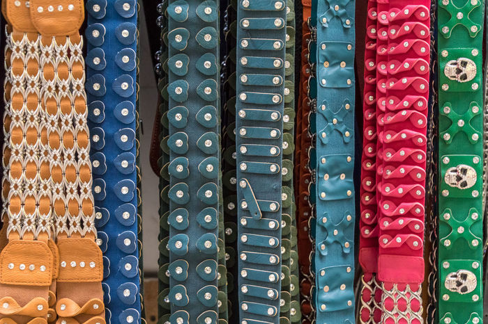 Fashion Leather Lifestyle Market Sale Staking Backgrounds Belt  Close-up Colorful Day Full Frame Girdle Indoors  Large Group Of Objects Leather Craft Lifestyles Multi Colored No People Retail  Retail Store Shop Store Waistbelt