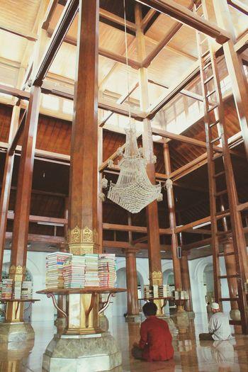 Architecture Indoors  Day Mosque Architecture Surabaya City