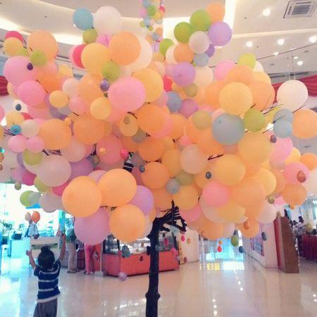 Cute Balloons Tree Porn Tree