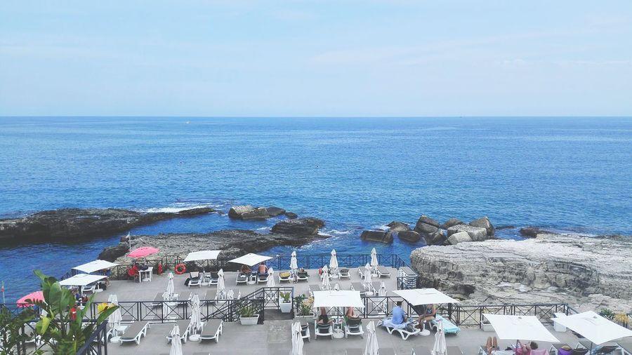 Ortigia Sicily Sea Sun Holidays Water Sea Beach Cityscape Clear Sky Blue High Angle View City Sky Horizon Over Water