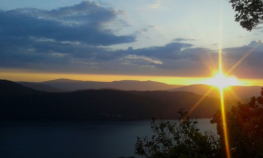 Aix Les Bains Lake Bourget Sunset Summer Holidays France Belvedere Spot Picture Of The Day Melancoly Beauty Landscape