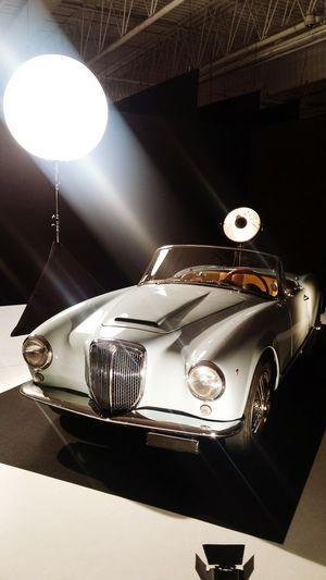 Lancia Aurelia 1956 capturée a l'expo L'Automobile fait son cinéma... BELLISSIMA ! Collector's Car Lancia Aurelia