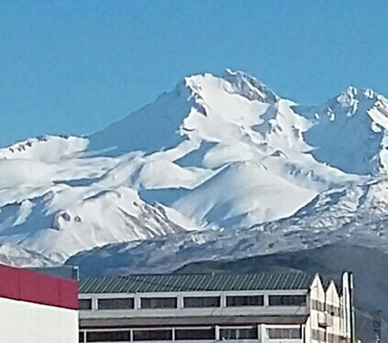 Güzelim Erciyes dağım