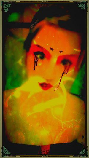 Horrorart Oddity Neon Monster Nightmare Art, Drawing, Creativity Mercurial Darkartist The Twilight Zone Darkart Creative Light And Shadow Darkest Hours Creepy Faces 👻💀 Bizarre Art Horror Portrait Halloween Horrors Evil Entity Foreboding Night Gallery Grunge Art Shadows & Lights Nightscape Darkness And Light Sexygirl Twilight Emo +grungestyle