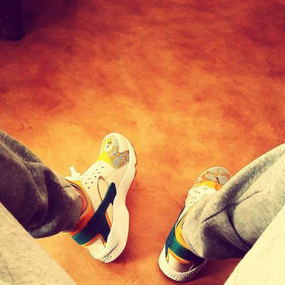 HUCH ON MY FEET Nike Huarache Sneakers Sport Shoes DOPE NikeRun Runing