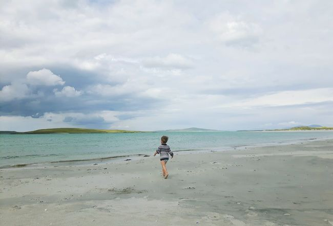 Beach Sea Sand Walking Full Length EyeEmNewHere Live For The Story One Boy Only Toddlersofeyem The Great Outdoors - 2017 EyeEm Awards The Portraitist - 2017 EyeEm Awards Scottish Beaches Scottish Beach Hebrides Outerhebrides Nortuist Uist Childphotography Child At Beach Clachansands Clachan Child Running On Beach Toddler Boy Beauty In Nature Child Place Of Heart Sommergefühle EyeEm Selects Breathing Space The Week On EyeEm Done That. Lost In The Landscape Perspectives On Nature