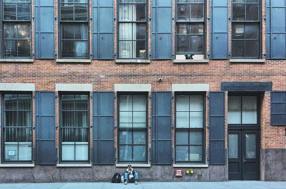 Soho 2017 | Crosby St., 8 a.m. Architecture Building Exterior City Downtown Manhattan