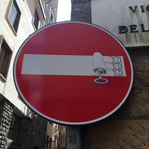 Street Art Graffiti Signs Clet Abraham