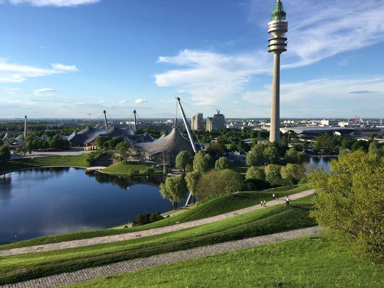 Olympiaparkmünchen GF Wonderful Day First Eyeem Photo