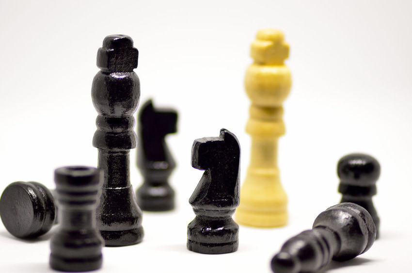 Chess Strategy Chess Piece Chess Board Leisure Games Pawn - Chess Piece King - Chess Piece Knight - Chess Piece White Background Queen - Chess Piece No People Indoors  Close-up Day Game Game Of Chance Luck Chance Gambling Backgrounds EyeEm Selects Studio Shot Games Background