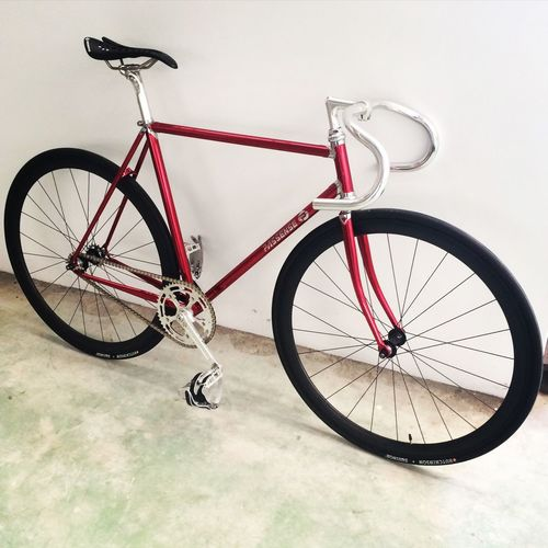 Lightweight version Classical Lug Chrome Red Fixed Gear Fixie Cycling Around Bikes Fixedgear Cycling Cyclist Njs OpenEdit