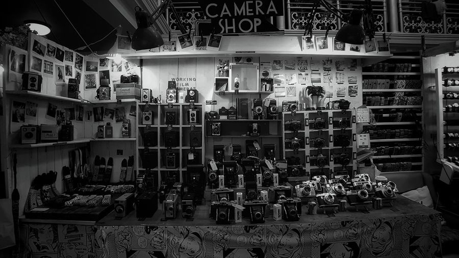 Choice Variation Indoors  Large Group Of Objects No People Day Cameras📷 Camera Shop The Camera Shop Equipment Vintage Market Camdenmarket London