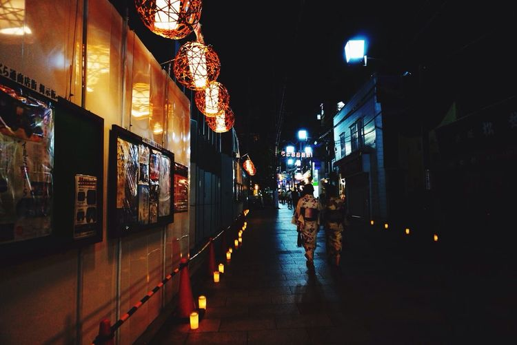 灯 浴衣 Nara,Japan YUKATA