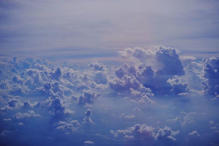 Cloud over Cloud - Sky Sky EyeEm Selects Eye Em Best Shots Landscape EyeEm Selects