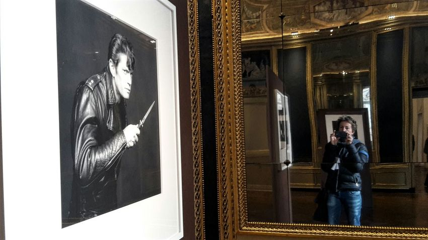 Me and Mapplethorpe Reflections Photographic Art History Architecture Historic Building Architecture Portrait Photography Indoors  FreeTime Culture Art Photography Turin Italy