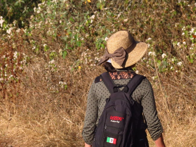 Mi Amor Love Adult Adventure Day Hat Nature One Person Outdoors People Real People Rear View Standing Sun Hat