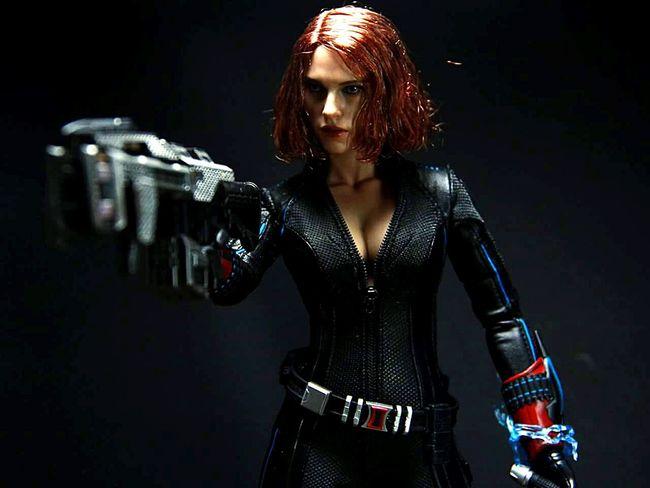 Hot Toys Black Widow from Avengers Age of Ultron. First Eyeem Photo Hottoys Hottoyscollector Scarlett Johansson BlackWidow Avengersageofultron
