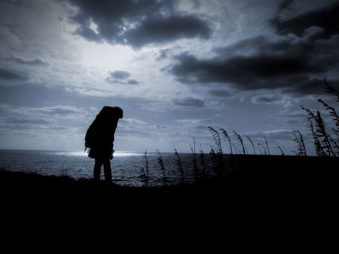 People Watching On The Road Lovely Weather Silhouette Sea And Sky Getting In Touch Popular Photos Home Sweet Home My Best Photo 2014