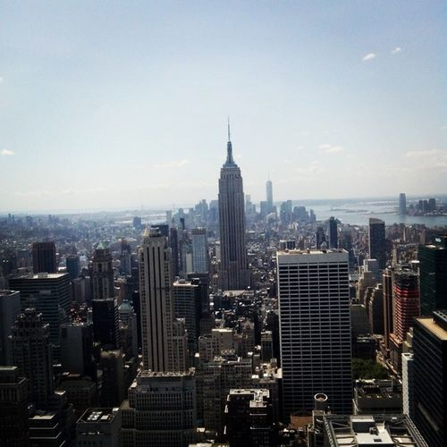 Top of the rock USA Rockfeller Center Topoftherock rock rockfellercenter feller trip journey cool sky buildings perfect love nyc new york