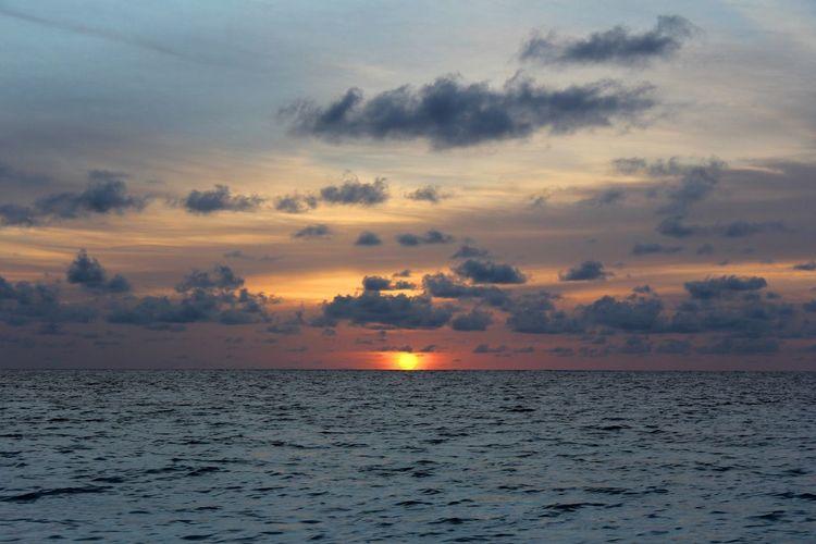 Ocean Sky Cloud