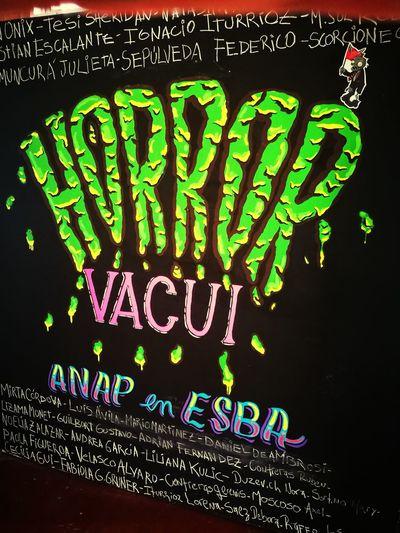 Horror vacui presentación Vacui Esba Esbanqn Nqncity