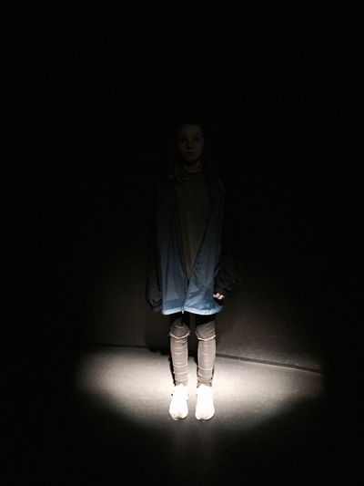 The Portraitist - 2017 EyeEm Awards Week On Eyeem Indoors  One Person Illuminated Night Light And Shadow The Secret Spaces Still Life Standing Young Adult