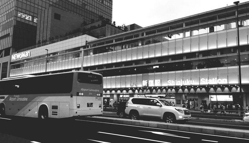 Tokyo,Japan Shinjuku Busterminal City Travel なんか、新しいけど懐かしい。